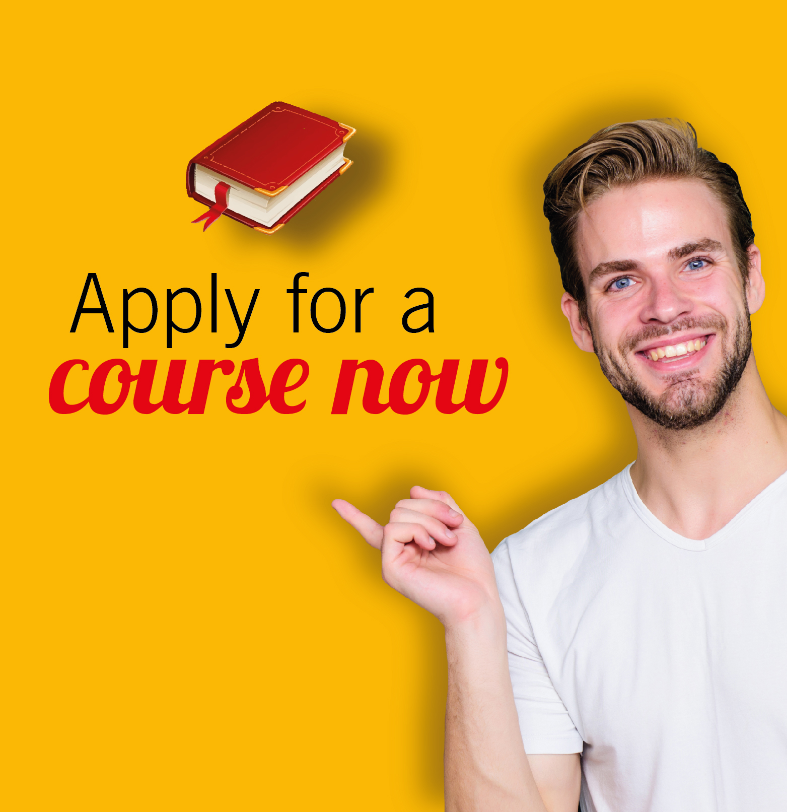 Apply for a course now
